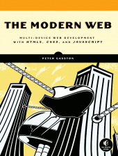 The cover of the book, The Modern Web